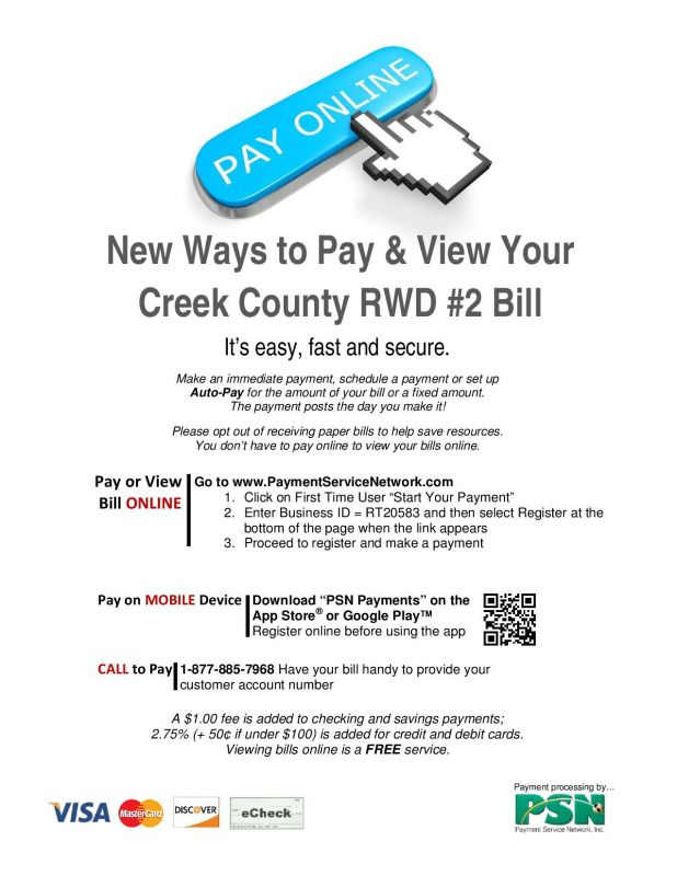 Online Bill Pay is Here!